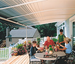 SunSetter Awnings Rainaway Arches