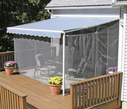 SunSetter Awnings Screen Room with Floor