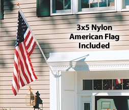 Deluxe 6-Ft. Flagpole Set