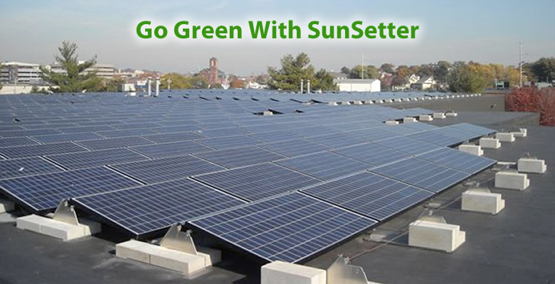 SunSetter Awnings Go Green