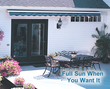 Sunsetter Patio Cover Canopies And Porch Covers