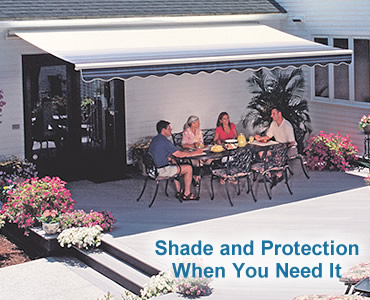 Porch Cover from SunSetter Awnings