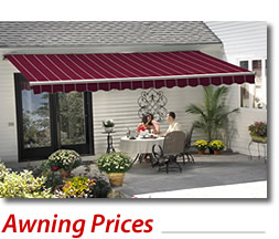 Awnings Pricing