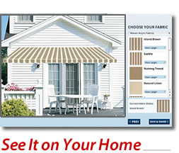 See How a SunSetter Awnings Might Look on Your Home