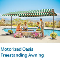 Oasis Motorized Awning
