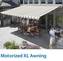 Motorized XL Awning