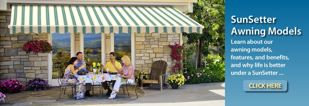 SunSetter Awning Models