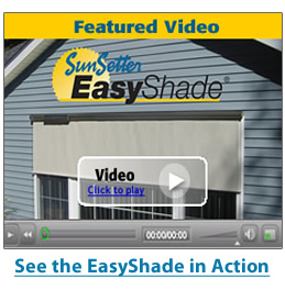 SunSetter EasyShade Video