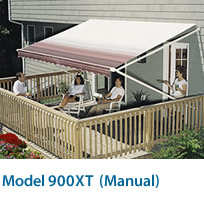 SunSetter Model 900XT Manual Awning