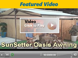 SunSetter Awnings Video