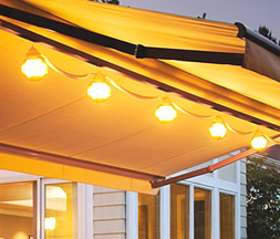 Sunsetter Patio Lights For Oasis Freestanding Awning