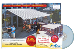 SunSetter Awnings Free Information Kit and DVD