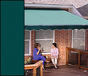 Awnings Evergreen Stripe