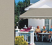 Awnings Sage color