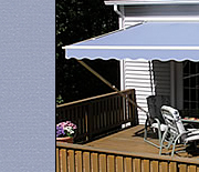 Awnings Smoke Blue color
