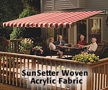 Sunsetter Canopies With Acrylic Fabric