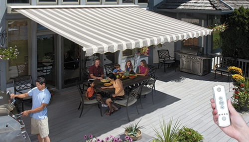 SunSetter Motorized Awnings Retractable Awning