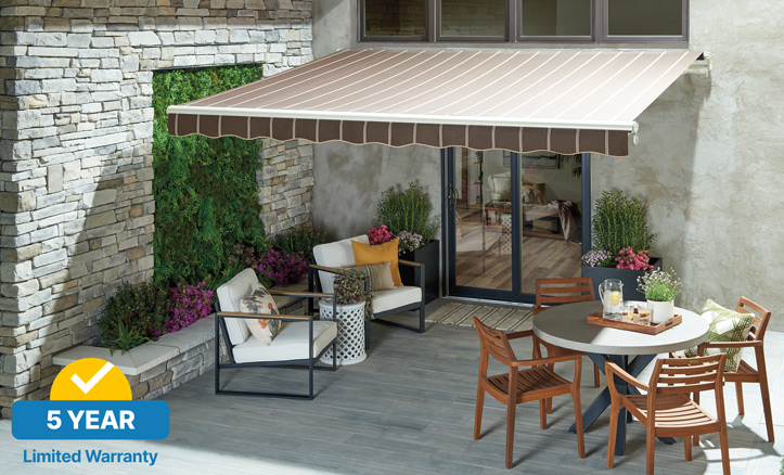 Sunsetter Awnings Choose The Best Retractable Awning Model For Your Home
