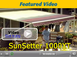 Sunsetter Model 1000xt And 900xt Awnings Manually
